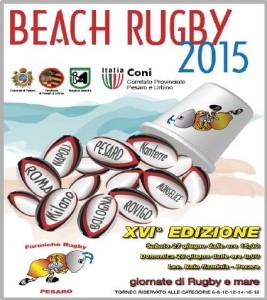Beach Rugby Pesaro 2015